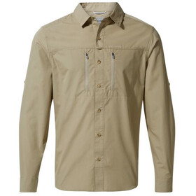 Craghoppers Kiwi Boulder Longsleeve Shirt Heren, rubble